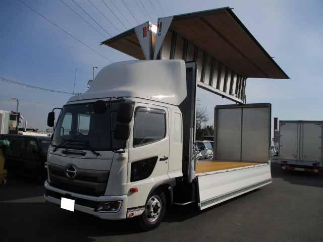 日野 レンジャー 中型 ウイング エアサス ベッド|架装 トランテックス トラック 画像 トラックバンク掲載