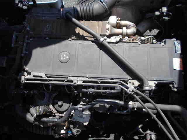 三菱 スーパーグレート 大型 ウイング エアサス ベッド|馬力 380ps トラック 画像 トラックバンク掲載