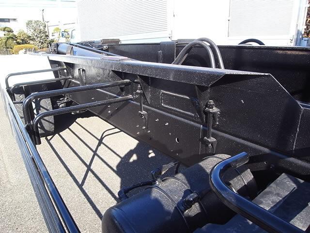 いすゞ ギガ 大型 アームロール ツインホイスト ベッド|画像6