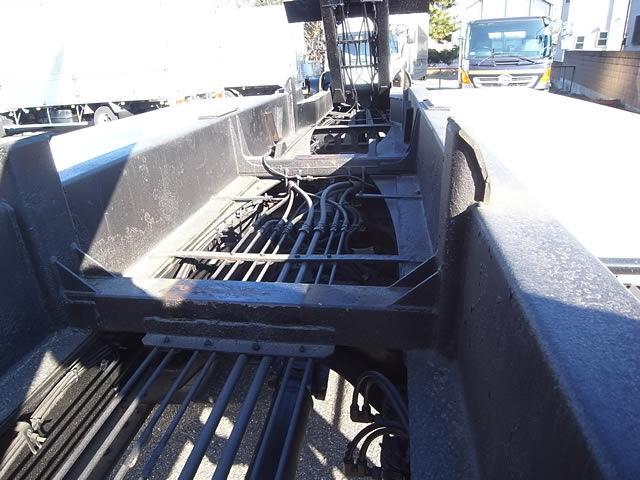 いすゞ ギガ 大型 アームロール ツインホイスト ベッド|画像7