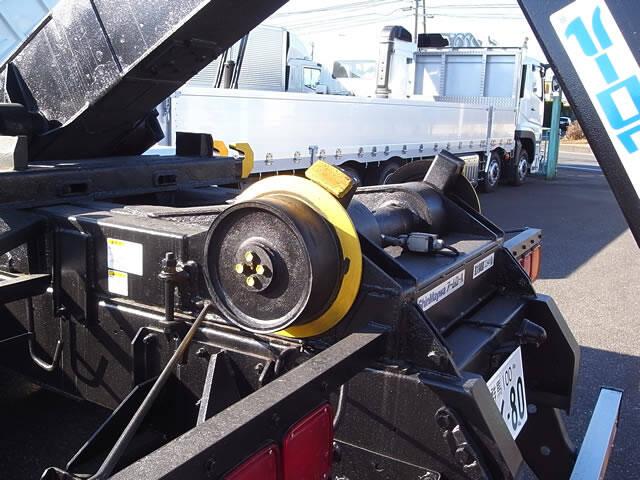 いすゞ ギガ 大型 アームロール ツインホイスト ベッド 画像8