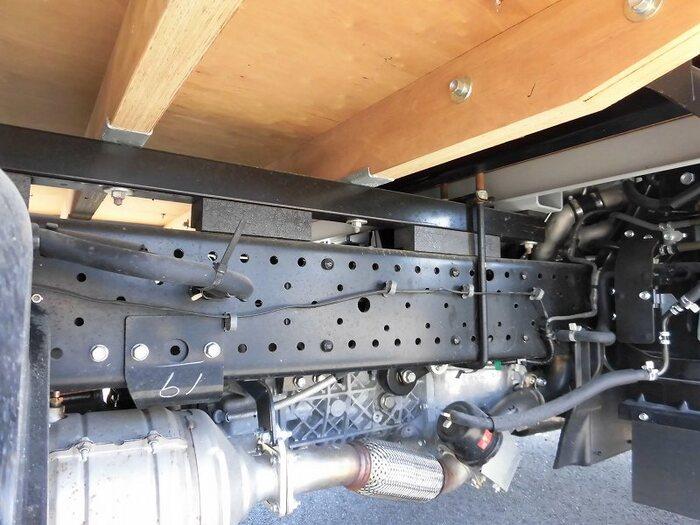 いすゞ エルフ 小型 平ボディ 幌 アルミブロック|画像8
