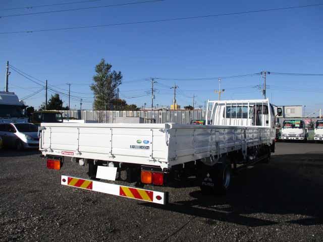 三菱 ファイター 中型 平ボディ ベッド 2KG-FK62F|トラック 右後画像 リトラス掲載