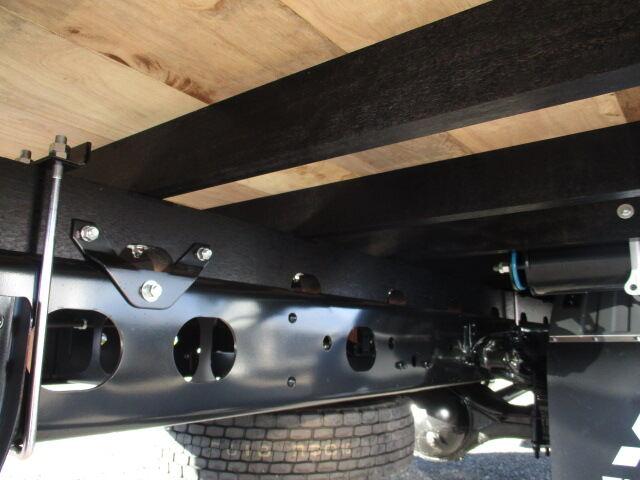 三菱 ファイター 中型 平ボディ ベッド 2KG-FK62F|コーションプレート トラック 画像 リトラス掲載