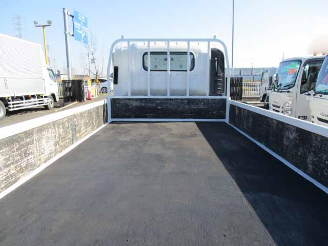 いすゞ エルフ 小型 平ボディ パワーゲート SKG-NNR85AR|トラック 背面・荷台画像 トラック市掲載