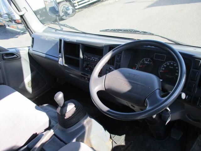 いすゞ エルフ 小型 平ボディ パワーゲート SKG-NNR85AR|架装 新明和 トラック 画像 トラックバンク掲載