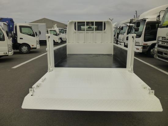 三菱 キャンター 小型 平ボディ Wキャブ パワーゲート|画像4