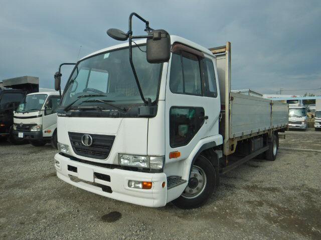 中古 平ボディ中型 日産UDコンドル トラック H18 PB-MK36A
