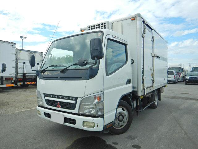 中古 冷凍冷蔵小型 三菱キャンター トラック H19 PA-FE72DC