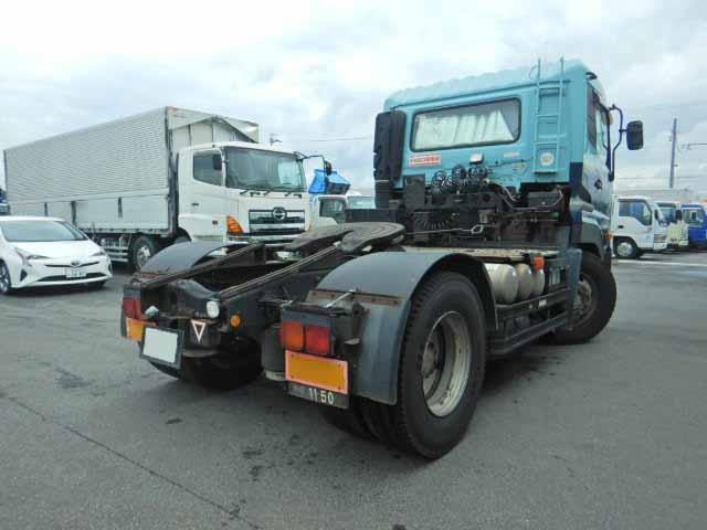 日産UD クオン 大型 トラクタ 1デフ エアサス|トラック 右後画像 リトラス掲載
