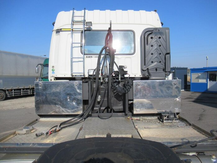 いすゞ ギガ 大型 トラクタ ハイルーフ 1デフ フロントガラス トラック 画像 トラック王国掲載