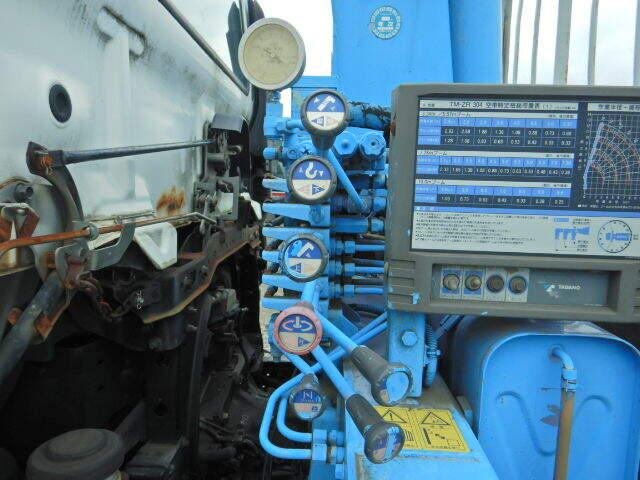 中古 クレーン付中型 日野レンジャー トラック H17 PB-FC6JKFA