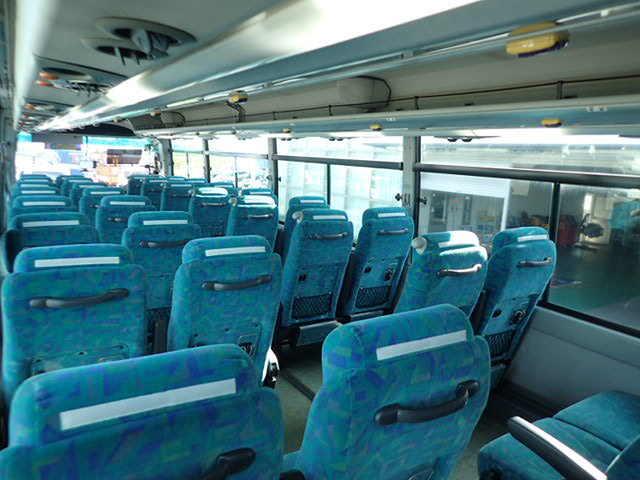 日野 セレガ 大型 バス 観光バス ADG-RU1ESAA|フロントガラス トラック 画像 トラック王国掲載