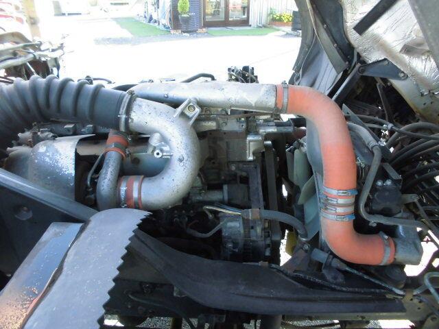 三菱 ファイター 中型 クレーン付 4段 ラジコン|シャーシ トラック 画像 キントラ掲載