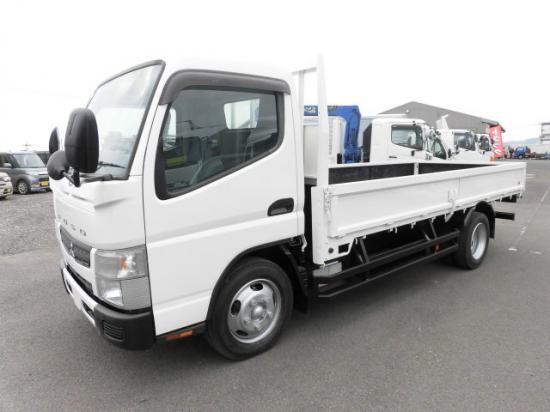 中古 平ボディ小型 三菱キャンター トラック H26 TKG-FEA50