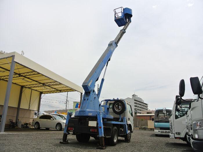 日野 デュトロ 小型 高所・建柱車 高所作業車 PB-XZU301E 画像2