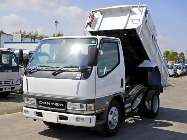 中古 タンク車小型 三菱キャンター トラック H14 KK-FE53EB