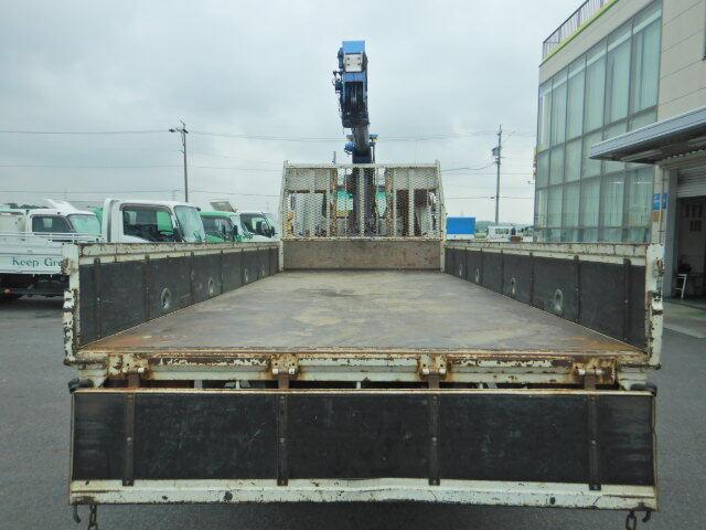 三菱 ファイター 中型 クレーン付 床鉄板 4段|画像3