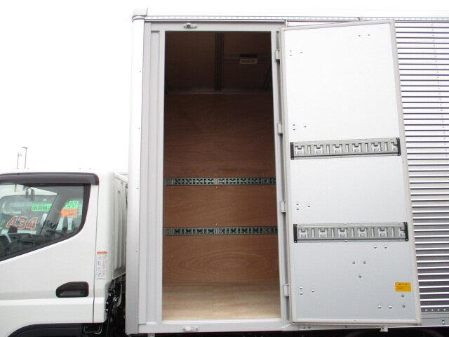 三菱 キャンター 小型 アルミバン パワーゲート サイドドア|画像4
