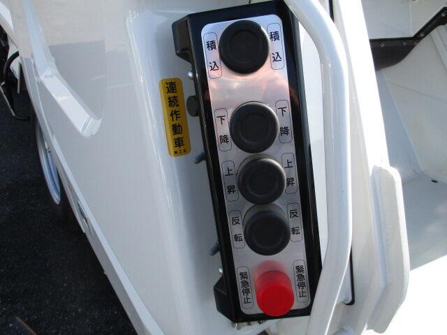 いすゞ エルフ 小型 パッカー車 プレス式 TPG-NMR85AN|運転席 トラック 画像 トラック王国掲載