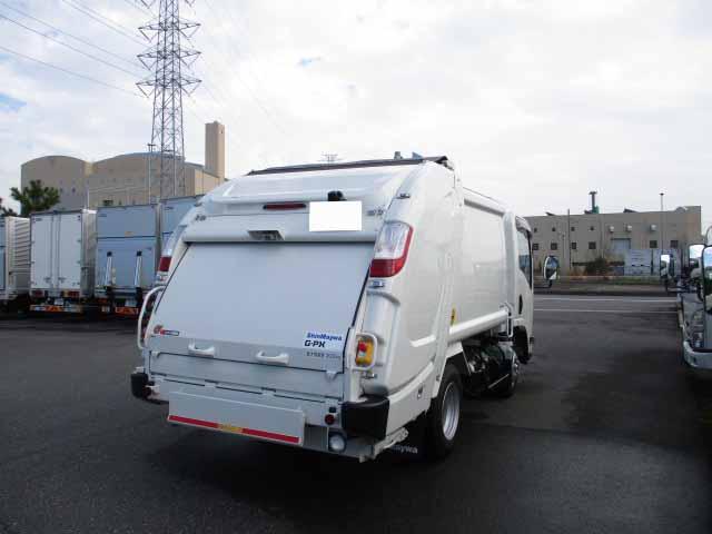 いすゞ エルフ 小型 パッカー車 プレス式 TPG-NMR85AN|トラック 右後画像 リトラス掲載