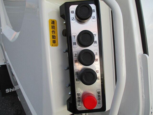 日野 レンジャー 中型 パッカー車 プレス式 2KG-FC2ABA|画像16