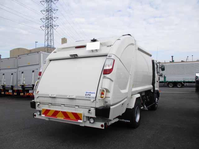 日野 レンジャー 中型 パッカー車 プレス式 2KG-FC2ABA|トラック 右後画像 リトラス掲載