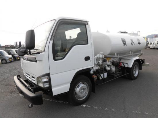 いすゞ エルフ 小型 タンク車 散水車 PA-NPR81N|画像1