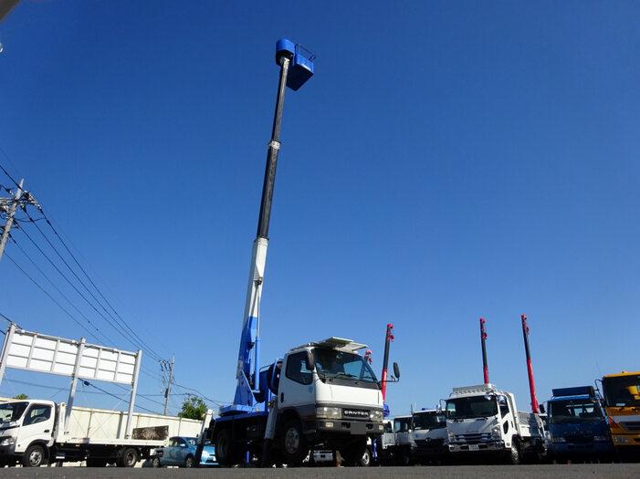 三菱 キャンター 小型 高所・建柱車 高所作業車 KK-FE53EB トラック 背面・荷台画像 トラック市掲載