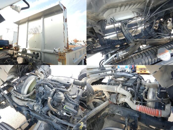 日産UD コンドル 中型 ダンプ コボレーン ベッド|エンジン トラック 画像 トラスキー掲載