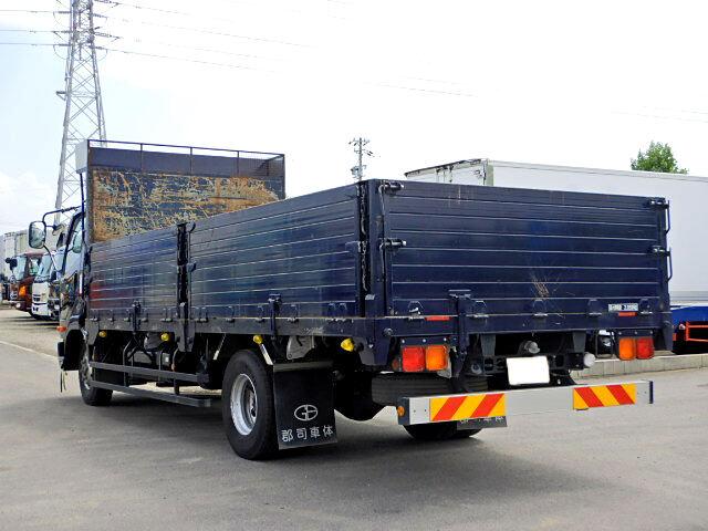 三菱 ファイター 中型 平ボディ 床鉄板 TKG-FK71F|荷台 床の状態 トラック 画像 トラックサミット掲載