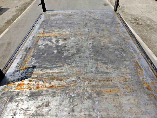 三菱 ファイター 中型 平ボディ 床鉄板 TKG-FK71F|型式 TKG-FK71F トラック 画像 栗山自動車掲載