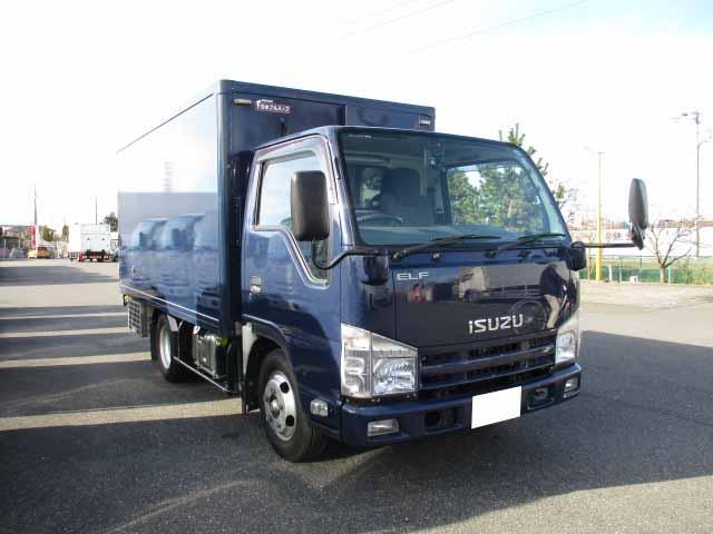 いすゞ エルフ 小型 冷凍冷蔵 低温 2室 駆動方式 4x2 トラック 画像 リトラス掲載
