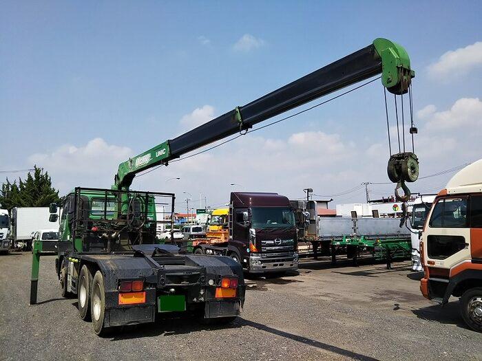 日産UD クオン 大型 トラクタ 2デフ ベッド|トラック 背面・荷台画像 トラック市掲載