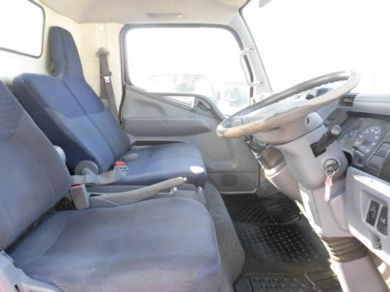 三菱 キャンター 小型 平ボディ 床鉄板 PDG-FE83DY 積載 4.45t トラック 画像 ステアリンク掲載