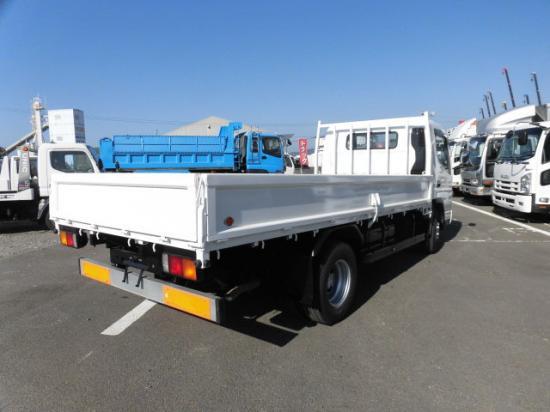 三菱 キャンター 小型 平ボディ 床鉄板 PDG-FE83DY トラック 右後画像 リトラス掲載