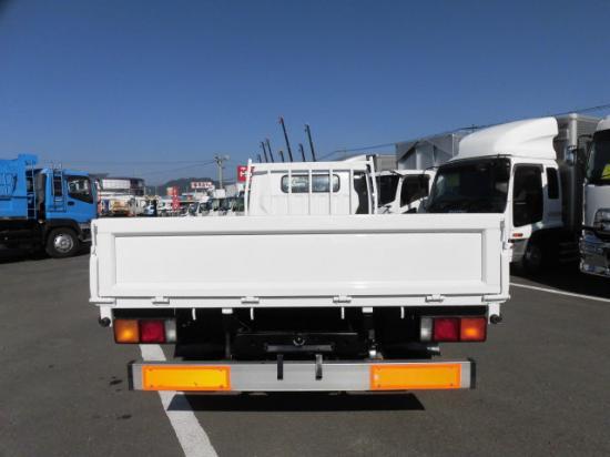 三菱 キャンター 小型 平ボディ 床鉄板 PDG-FE83DY トラック 背面・荷台画像 トラック市掲載