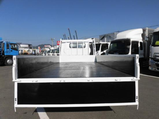 三菱 キャンター 小型 平ボディ 床鉄板 PDG-FE83DY 運転席 トラック 画像 トラック王国掲載
