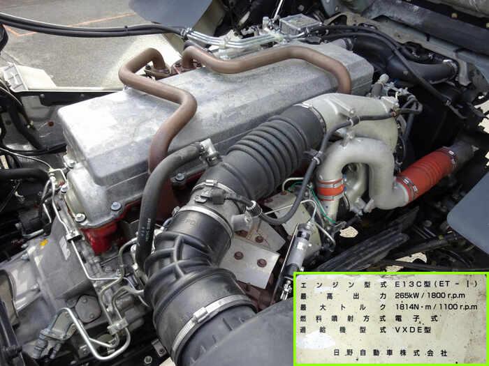 日野 プロフィア 大型 特殊車両 ADG-FR1EPYA H19 タイヤ トラック 画像 トラック市掲載