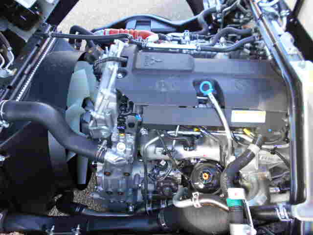 三菱 キャンター 小型 平ボディ パワーゲート 2PG-FEB80|走行距離 - トラック 画像 トラックランド掲載