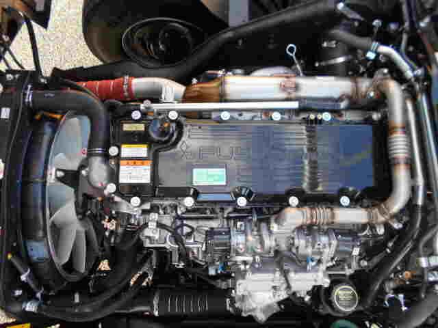 三菱 ファイター 中型 平ボディ ベッド 2KG-FK62F|画像15