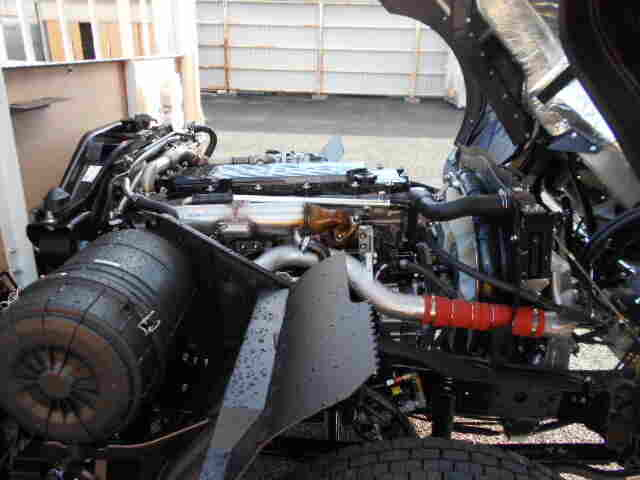 三菱 ファイター 中型 平ボディ ベッド 2KG-FK62F|画像16