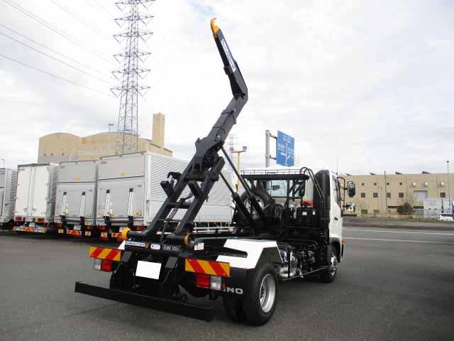 日野 レンジャー 中型 アームロール ツインホイスト 2KG-FC2ABA|荷台 床の状態 トラック 画像 トラックサミット掲載