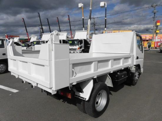 三菱 キャンター 小型 ダンプ PA-FE71BBD H18|トラック 右後画像 リトラス掲載