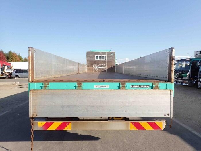 三菱 スーパーグレート 大型 平ボディ 床鉄板 アルミブロック|画像4