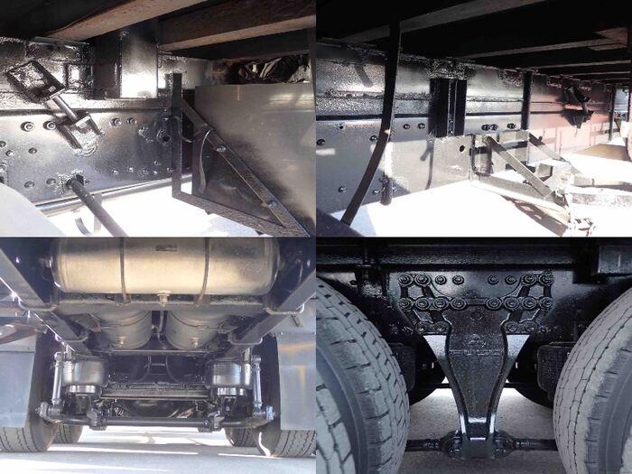 三菱 スーパーグレート 大型 平ボディ 床鉄板 アルミブロック|画像11