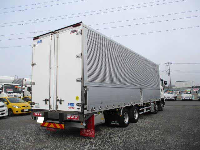 いすゞ ギガ 大型 ウイング ハイルーフ エアサス|年式 H31/R1 トラック 画像 トラックサミット掲載
