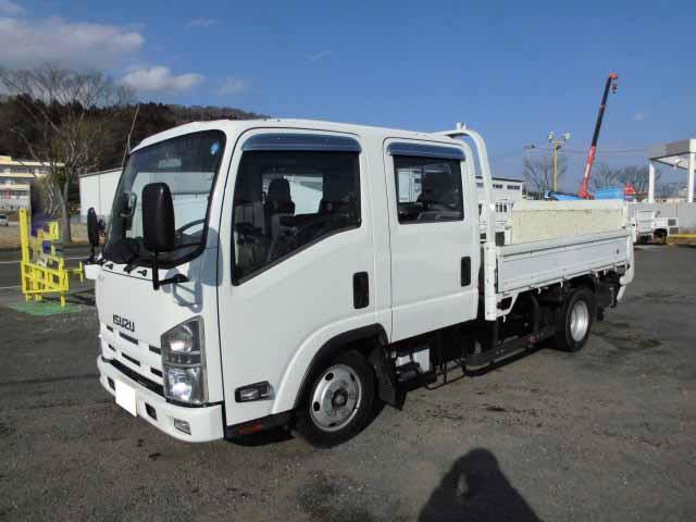 中古 平ボディ小型 いすゞエルフ トラック H25 TKG-NLR85AR