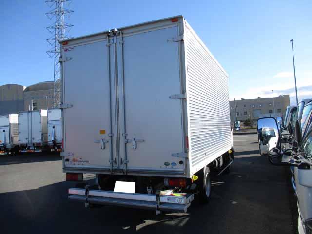 日野 デュトロ 小型 アルミバン パワーゲート サイドドア トラック 右後画像 リトラス掲載