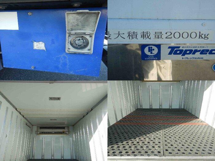 いすゞ エルフ 小型 冷凍冷蔵 低温 床アルミ|画像6